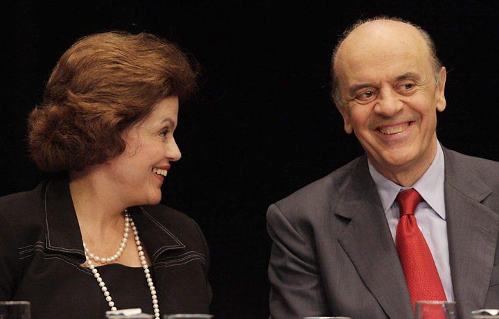 Serra  x Dilma